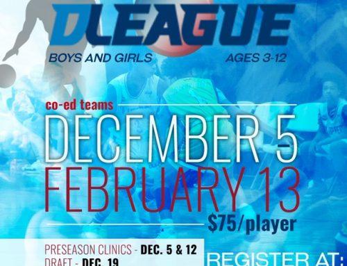 The D League Accepting Registration