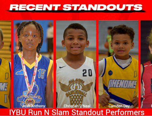 IYBU Run N Slam Standout Performers