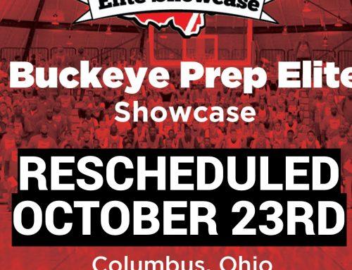 Buckeye Pre Elite Showcase Rescheduled (October 23rd)
